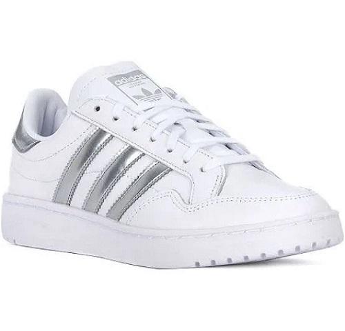 Adidas con strisce argento