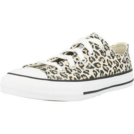 Converse colore leopardato