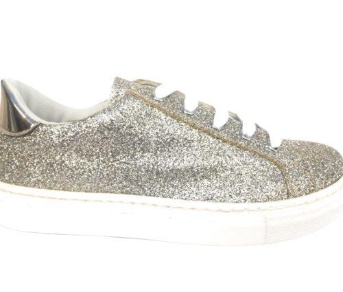 Eureka colore oro sneakers