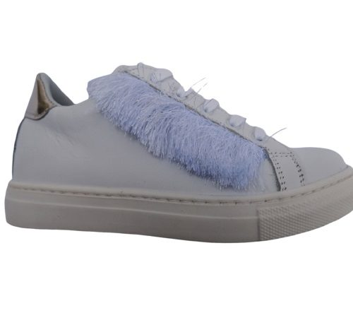 Eureka sneakers con lacci in pelle
